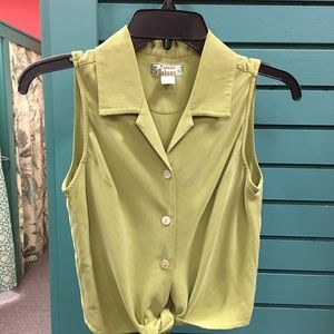 Tommy Bahama Silk Top (S 4-6)